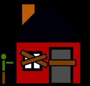 Zajęty dom dłużnika po eksmisji