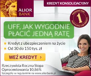 Alior Bank - konsolidacja - banner