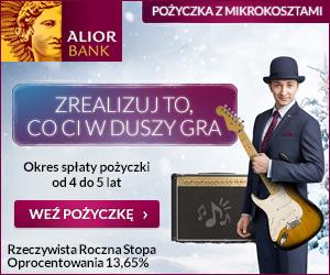 Alior - pożyczka z mikrokosztami banner
