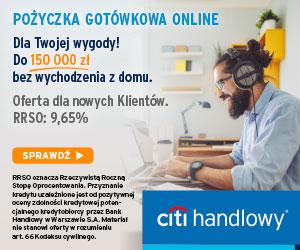 Citi Handlowy kredyt gotówkowy