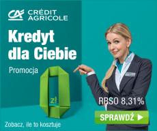 Credit Agricole kredyt gotówkowy