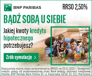 BNP PARIBAS - kredyt hipoteczny - button 300x250