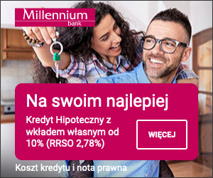 Millennium Bank - kredyt hipoteczny - button 300x250