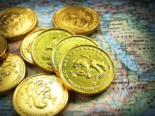 Złoto fizyczne - monety bulionowe